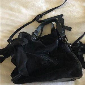 Juicy Couture velvet black bag